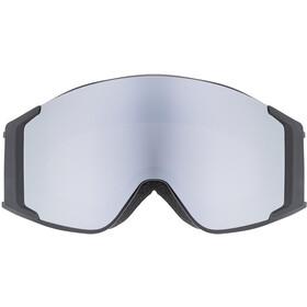 UVEX g.gl 3000 TOP Gafas, black/polavision-fullmirror silver